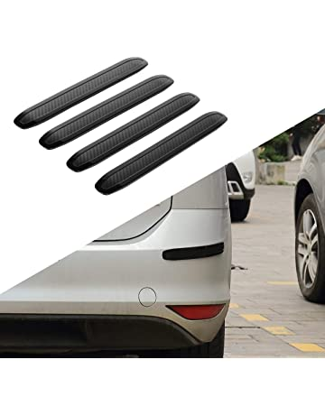 JoyTutus Car Bumper Guard Strips Rubber Anti-Scratch for Car SUV Pickup Truck Car Bumper