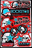 ' Motocross stickers ' mm1blub boys metal Rockstar bmx bike Scooter Moped army Decal/Stickers