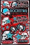 ' Motocross stickers ' mm1blub boys metal Rockstar bmx bike Scooter Moped army Decal/Stickers