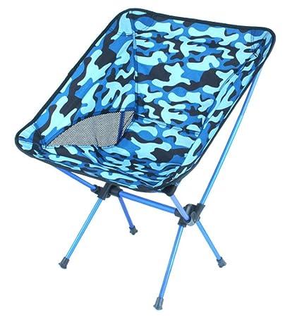 Isogea Camping en Plein air Chaise Pliante Chaise de Lune