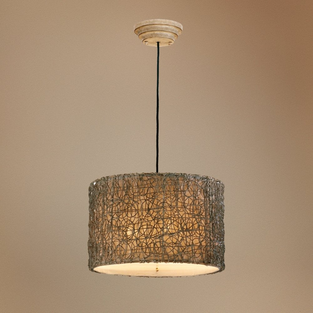 rattan pendant lighting. Naturals Knotted Rattan Pendant Chandelier - Ceiling Fixtures Amazon.com Lighting