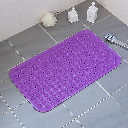 Estera de baño antideslizante Estera de baño de goma ambiental ...