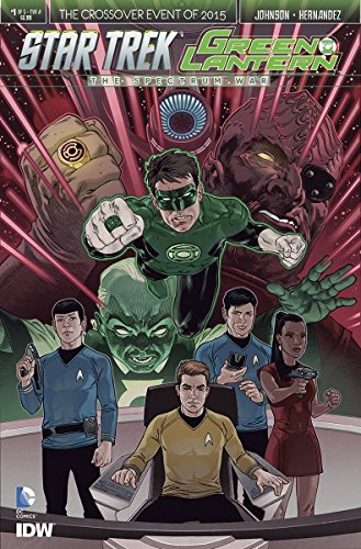 STAR TREK GREEN LANTERN #1 (OF 6) REG (Star Trek Reg)