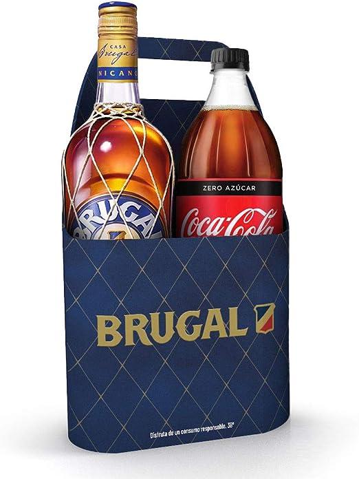 Brugal + Coca Cola 1.25 l - 2250 ml: Amazon.es: Alimentación ...