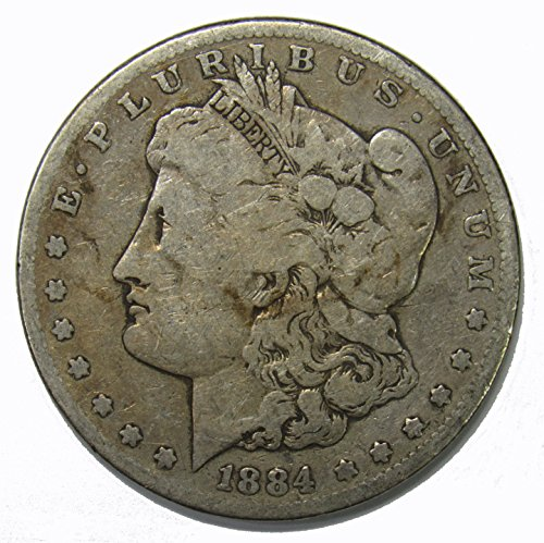 1884 S Morgan Silver Dollar $1 About Good 1884 Dollar Coin