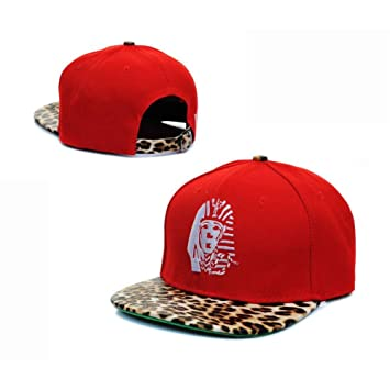 Last Kings leopard Red men   womens Snapback Hats LK snapbacks caps  Baseball Caps  Amazon.co.uk  Sports   Outdoors f48bcab53e1