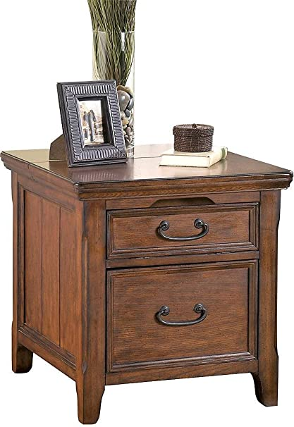 Amazoncom Ashley Furniture Signature Design Woodboro Media End
