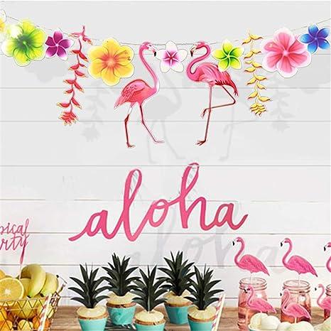 Christmas In Hawaii Party.Christmas Pompon Birthday Baby Shower Hawaiian Summer