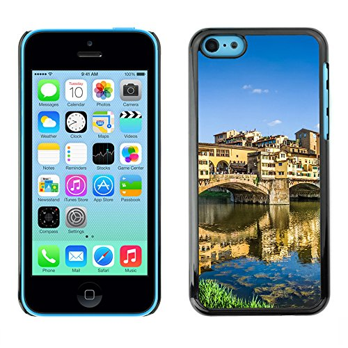 Premio Sottile Slim Cassa Custodia Case Cover Shell // V00002610 Ponte de Vecchio // Apple iPhone 5C