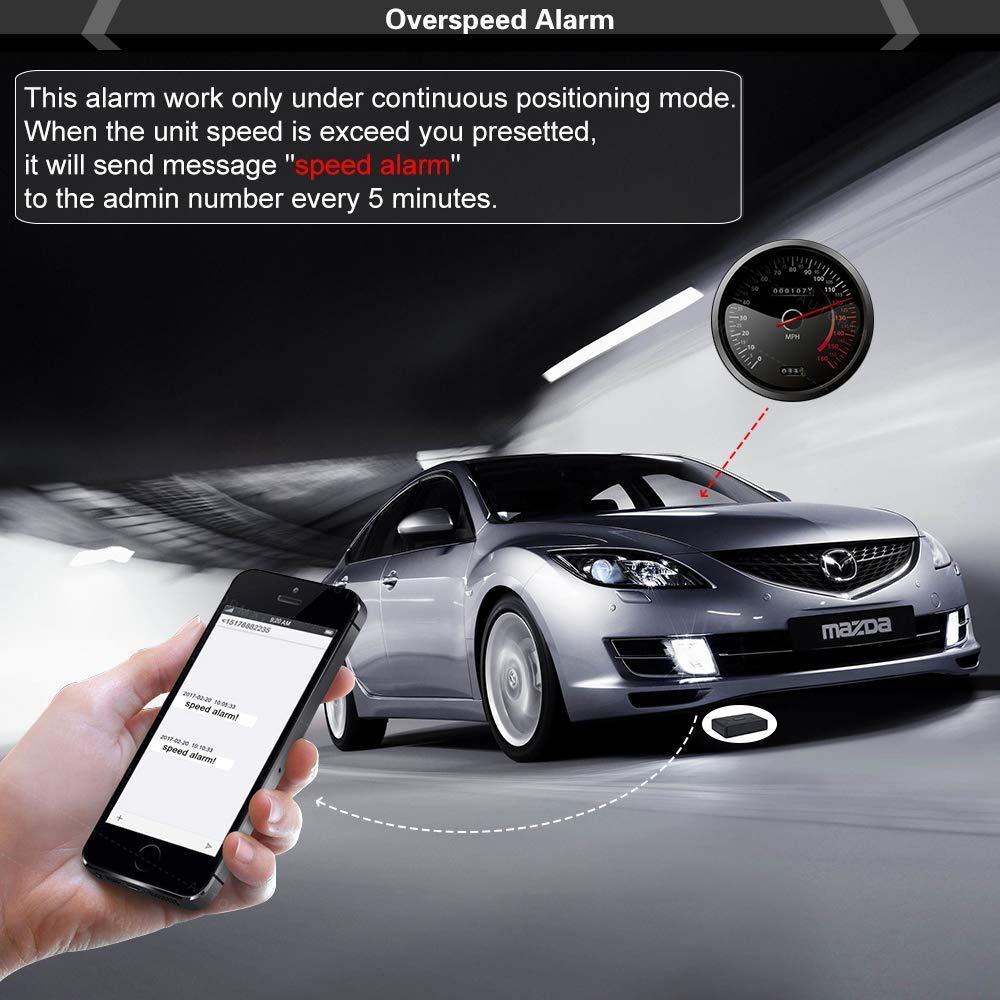 magnético GPS Tracker Auto, 120 Días largo inactivo ...