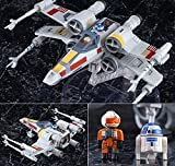[from Japan] Variable Action D SPEC Star Wars X-WING STARFIGHTER Luke Skywalker R2-D2 Action Figure MegaHouse