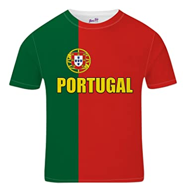 Bang Tidy Clothing Portugal Football Shirts for Men 2018 Portuguese Team Flag  T Shirt Fans Gift  Amazon.co.uk  Clothing 3398f3fde