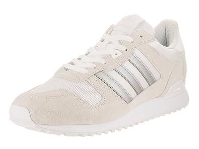 6fa89192b Image Unavailable. Image not available for. Colour  Adidas Men s ZX 700  Originals Ftwwht Msilve Ftwwht Running Shoe 11.5 Men US