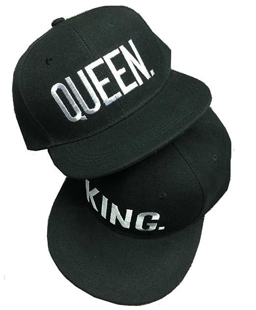 Nanxson - Gorra de béisbol - para Hombre Black King+Queen: Amazon.es: Ropa y accesorios