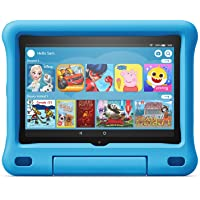 "All-new Fire HD 8 Kids Edition tablet, 8"" HD display, 32 GB, Kid-Proof Case, Blue"