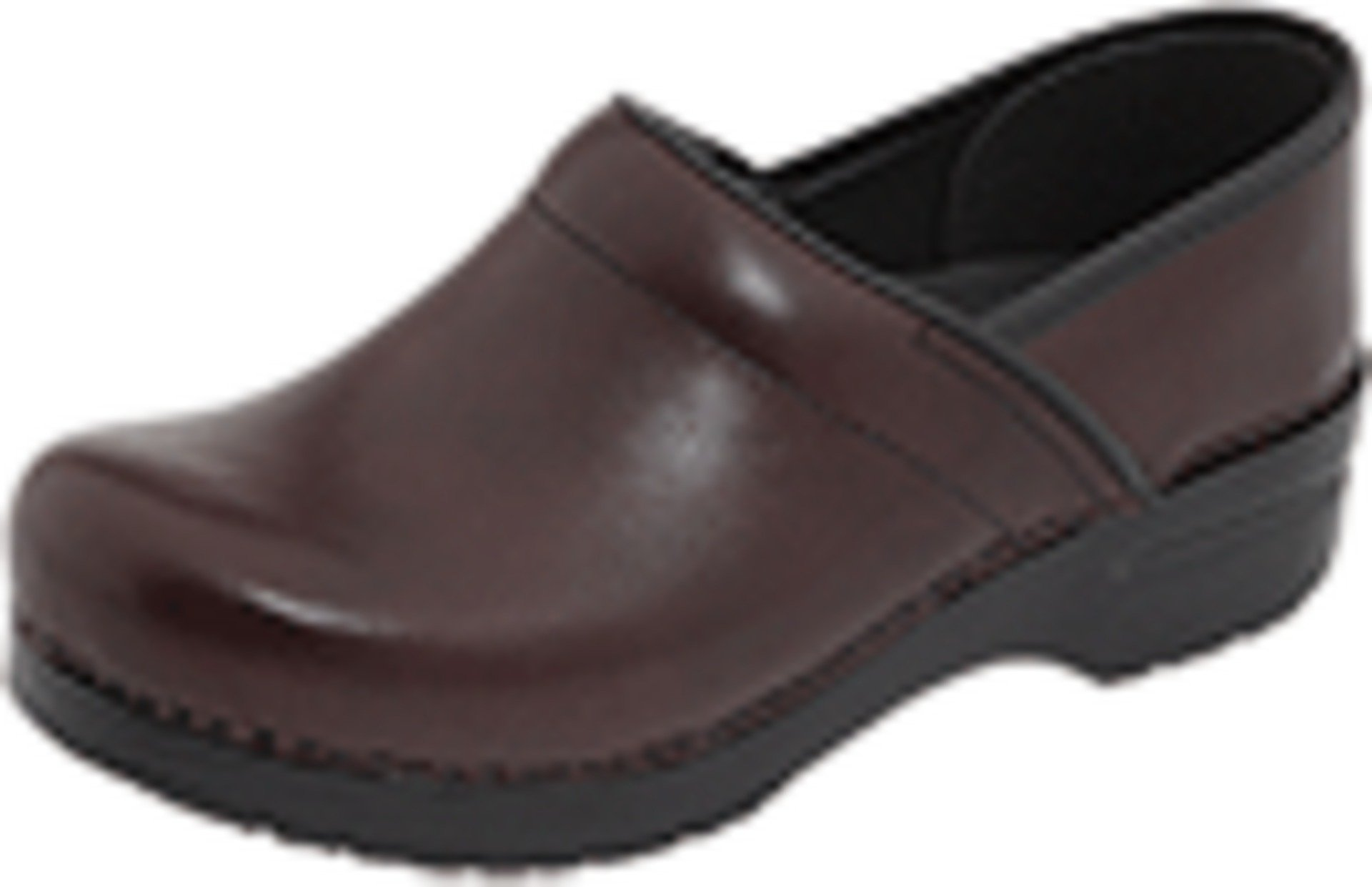 Dansko Unisex Professional Cordovan Cabrio Clog/Mule 41 (US Men's 7.5-8, US Women's 10.5-11) Regular by Dansko