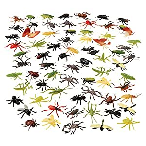 U.S. Toy VL134 Assorted Insects(72 Piece)