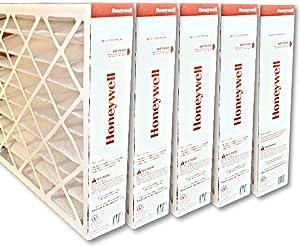 "Honeywell FC100A1037 20""x25""x4"" Merv 11 Filter Media,(Packaging may vary) Pack of 5"