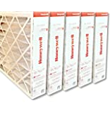 "Honeywell FC100A1037 20""x25""x4"" Merv 11 Filter Media,(Packaging may vary) Pack of 5"