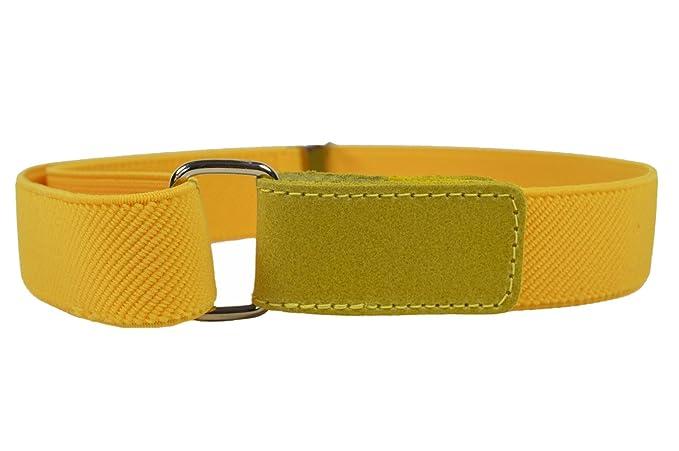 eedc49381 Olata Cinturón Elástico para los Niños Niñas 1-12 Años con Hook y Loop  Fijación  Amazon.es  Ropa y accesorios