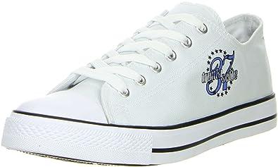 Schuhe-Trentasette Damen Sneaker Low-Cut weiszlig;