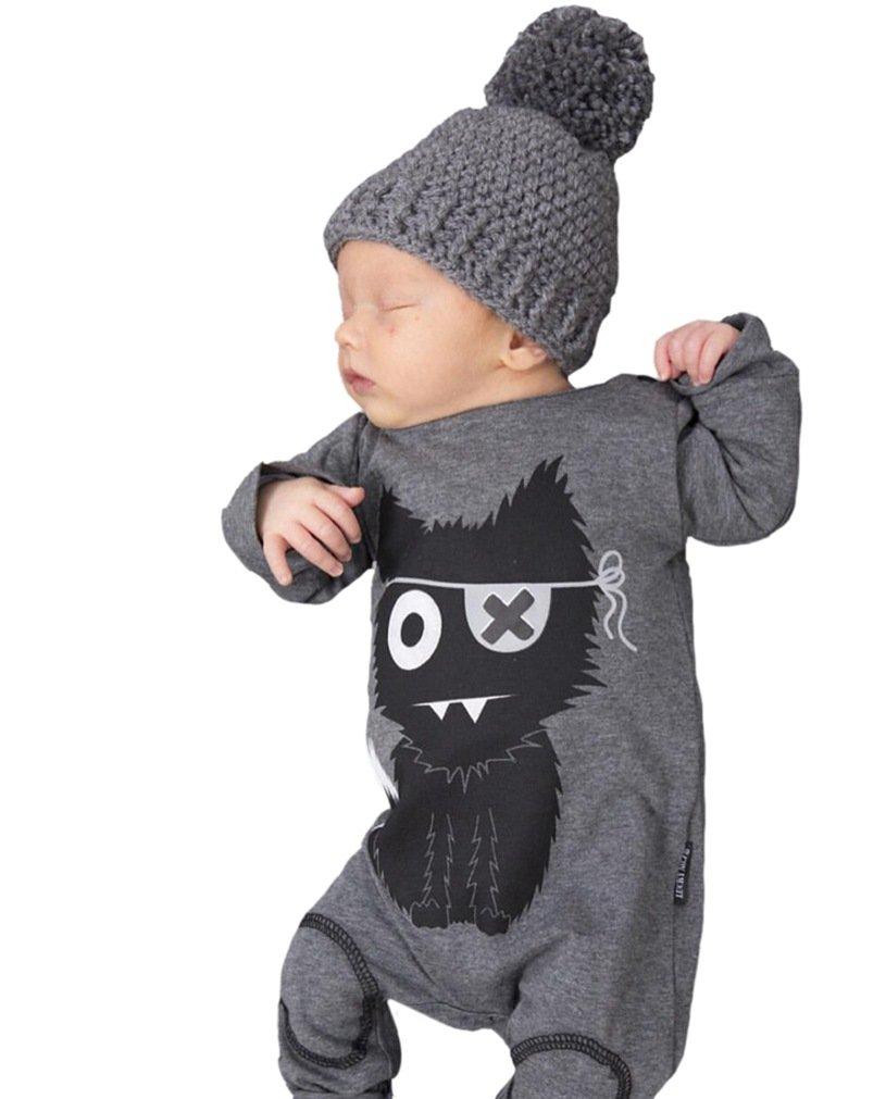 SAMGU Niño Recién Nacido Boy Jumpsuit Long Sleeve Baby Romper Ropa ESETLTY17032418