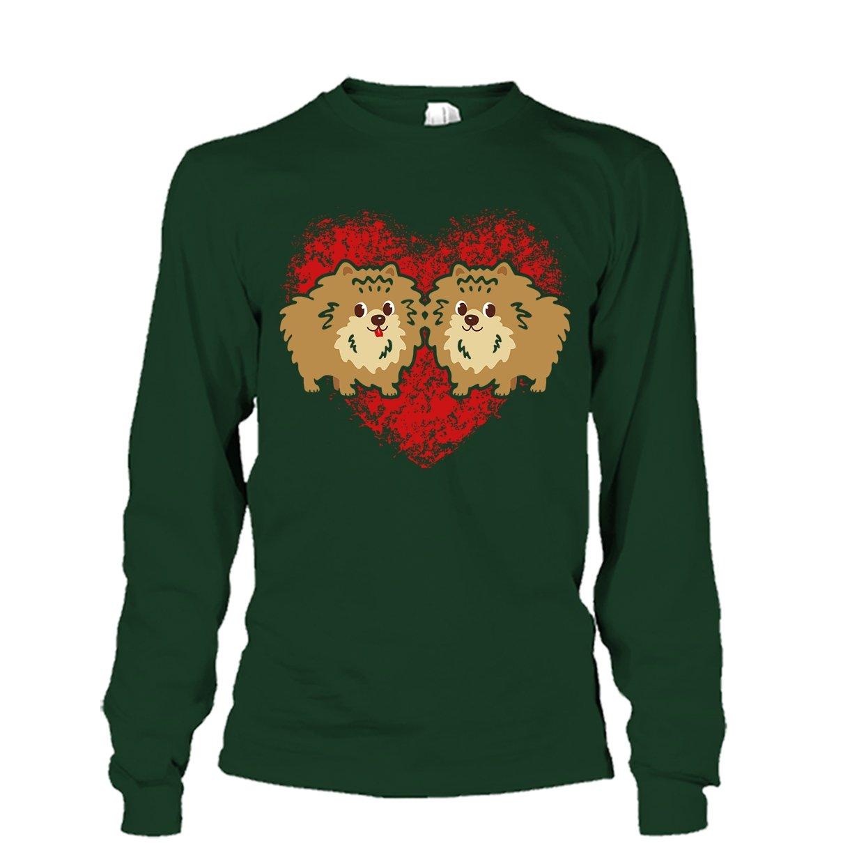 Mazoli Pomeranian T Shirts Design Cool I Love My Pomeranian Tee Shirt Best Gift for Someone Special