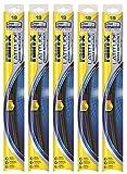 """Rain-X 5079276-2-5PK Latitude Wiper Blade, 19"""" (Pack of 5)"""