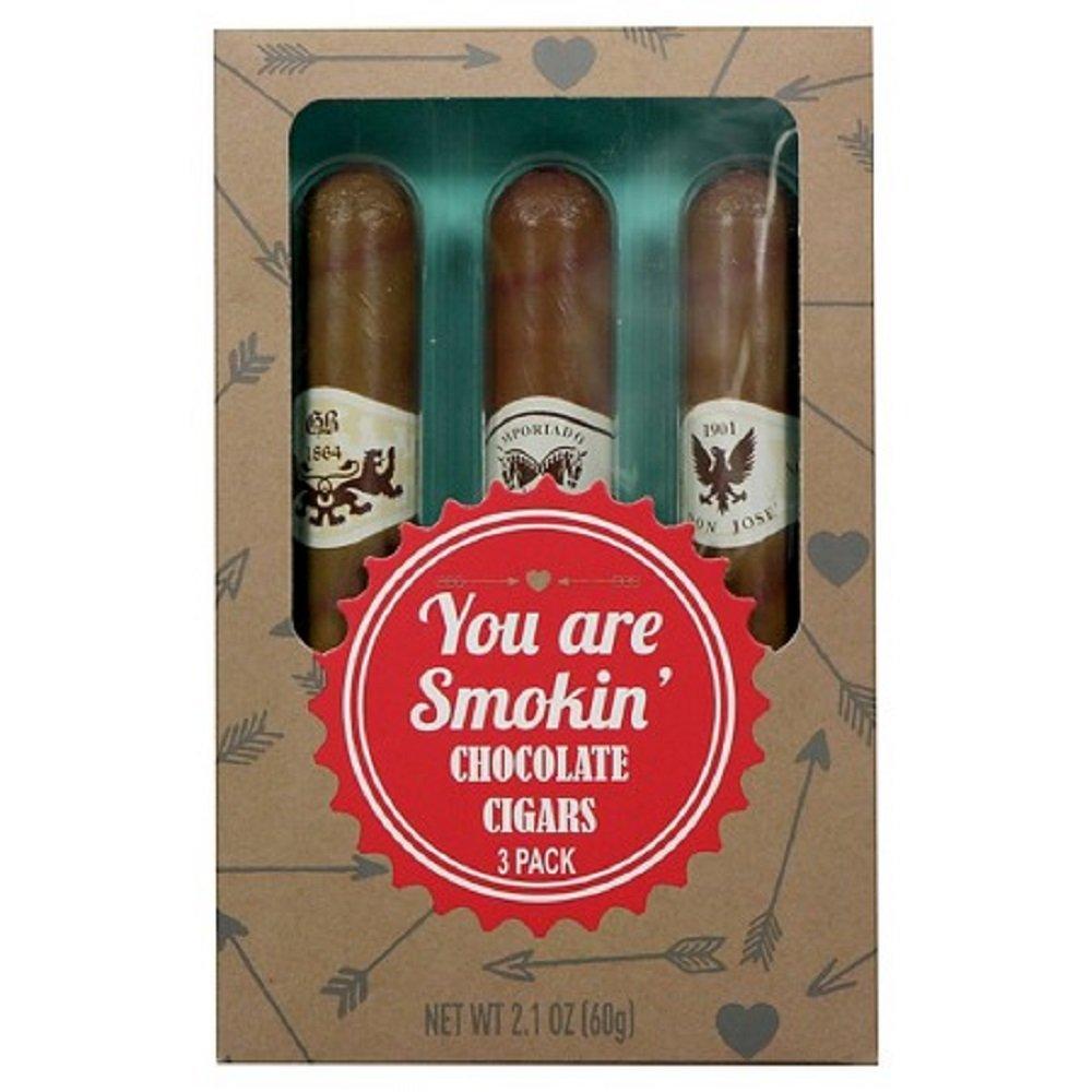 Amazon.com : Galerie You Are Smokin' Valentines Chocolate Cigars ...