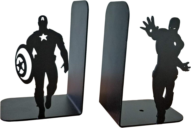 DUOER home Buchst/ützen Kreative Marvel Iron Man Metall Schreibtisch Steht Buchst/ützen Halter B/üro Schulbedarf Schreibwaren Buchst/ütze Geschenk Studenten Buchhalter