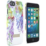 Official TED BAKER SS16 iPhone 8 / 7 Case - Hard Shell Back Case / Cover in Flower Design for Women, Snap on Back Case for Apple iPhone 8 / 7 - Hanging Gardens