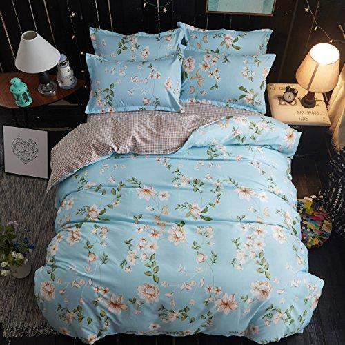 9 piece comforter set full blue - 5