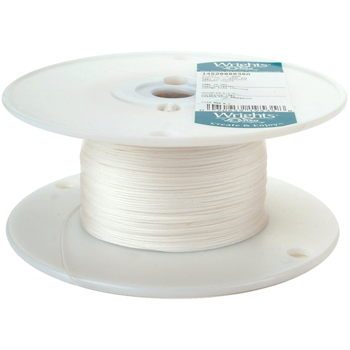 Wrights 30A Poly Drapery Cord, 1/16-Inch by 250-Yard by Wright Products