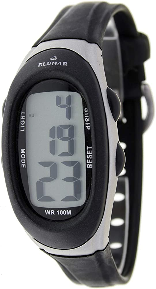 Blumar Bl-09818 Reloj Digital para Chico Caja De Resina Esfera Color Gris: Amazon.es: Relojes
