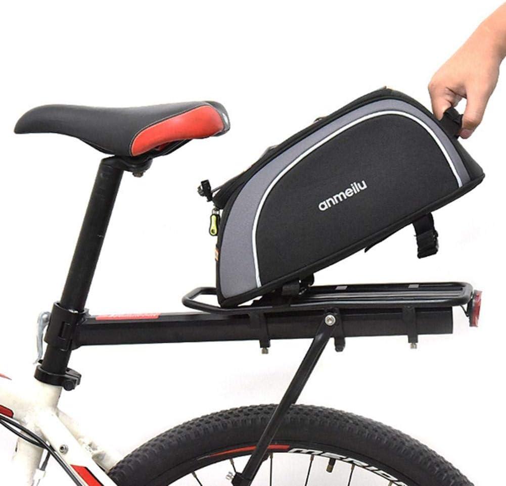 Hemousy Bolsa de Transporte de Bicicleta de 8L, Bolsa de Paquete de Asiento de Bicicleta, Portador de Bolsa de Almacenamiento a Prueba de Agua de Gran Capacidad Beautifully: Amazon.es: Hogar