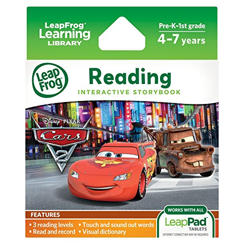 LeapFrog LeapPad Ultra eBook: Disney Pixar Cars 2 (works with all LeapPad Tablets) (Disney World Explorer compare prices)