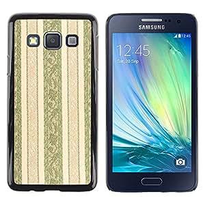 MOBMART Carcasa Funda Case Cover Armor Shell PARA Samsung Galaxy A3 - The Gentle Brown Path