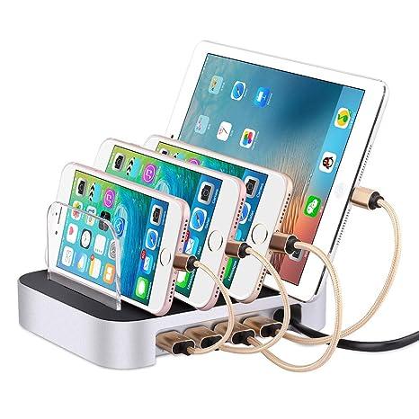 Cuatro Puertos USB Móvil De Soporte De Carga del Teléfono ...