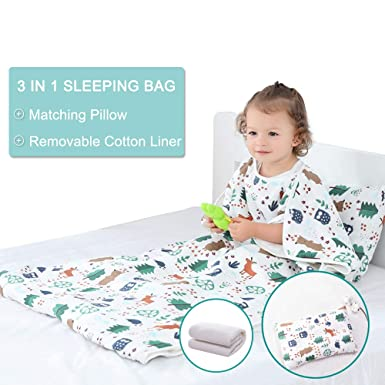 buy online 8f0d6 8450a Amazon.com: JALPC 4 Season Baby Sleep Sack - Premium Gauze ...