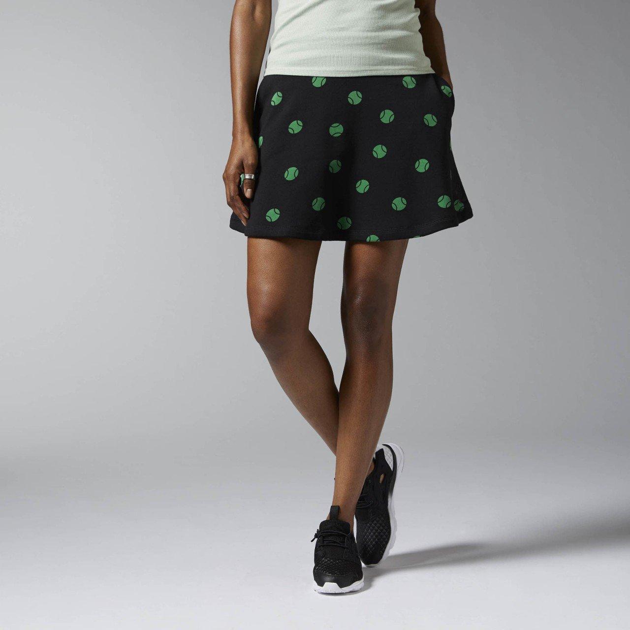 Reebok F Court AOP Ft Skirt?-?Women's Skirt, Women, F Court AOP FT Skirt