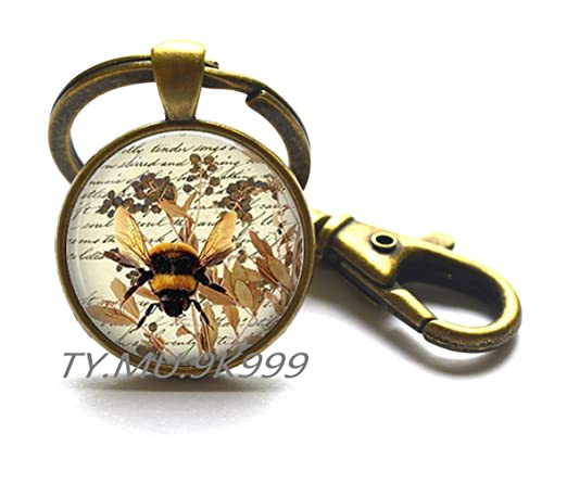 Llavero de abeja de miel, regalo para apicultores Y129 ...