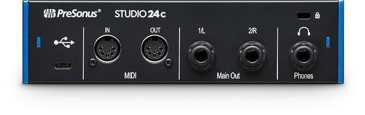Studio 24c:リアパネル