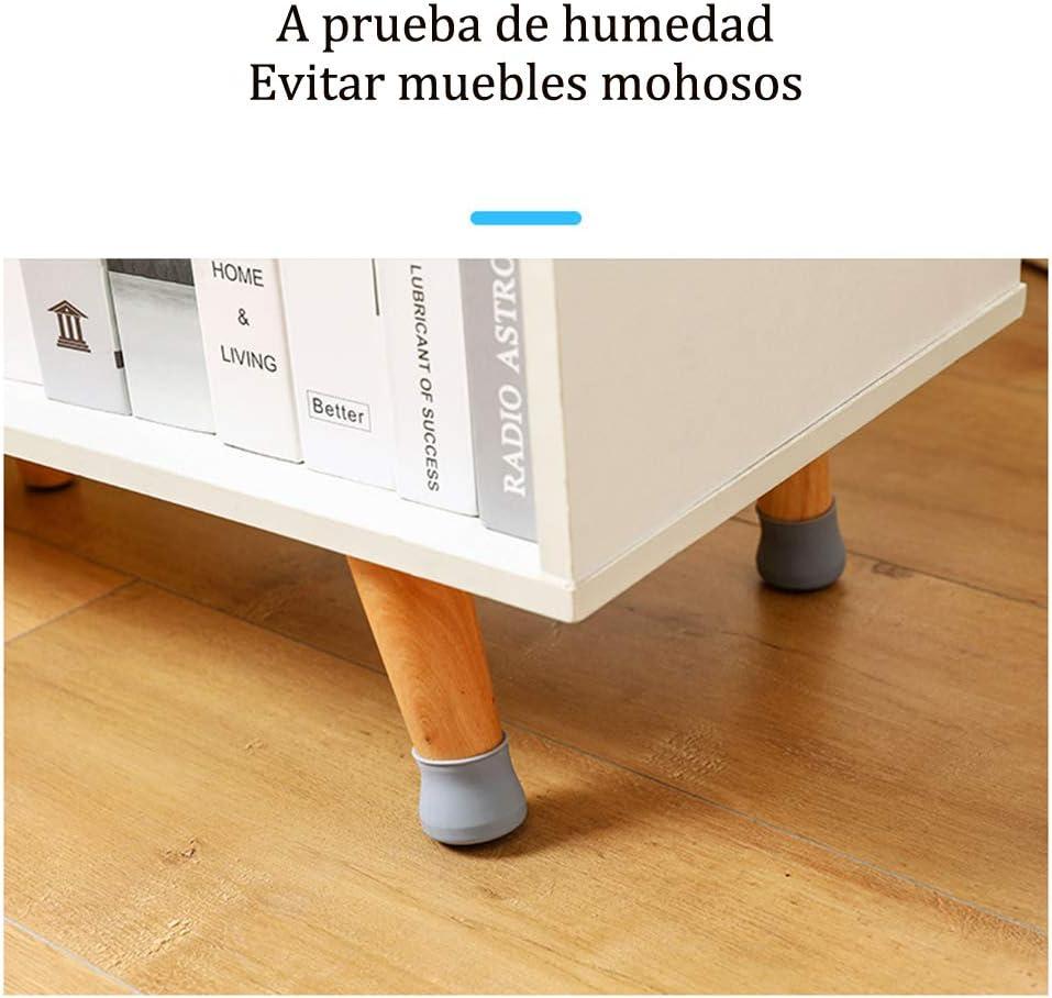 Homvik Almohadilla para Patas de Silla Cubierta para Pata Mueble Almohadilla de Silicona para Muebles Protector para Patas de Mesa Silla