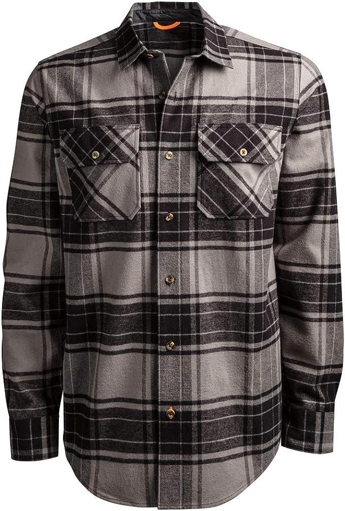 Timberland PRO A1V4K Woodfort Camisa de trabajo de franela pesada para hombre: Amazon.es: Ropa y accesorios