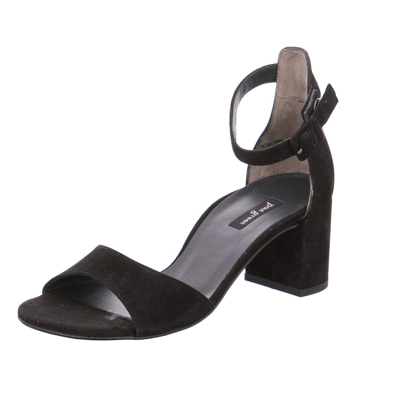 Paul Green 6969-062, Sandales pour Femme Noir Noir