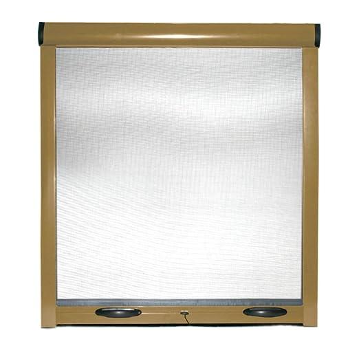 5 opinioni per Zanzariera a rullo finestre porte struttura alluminio casa bianco marrone bronzo