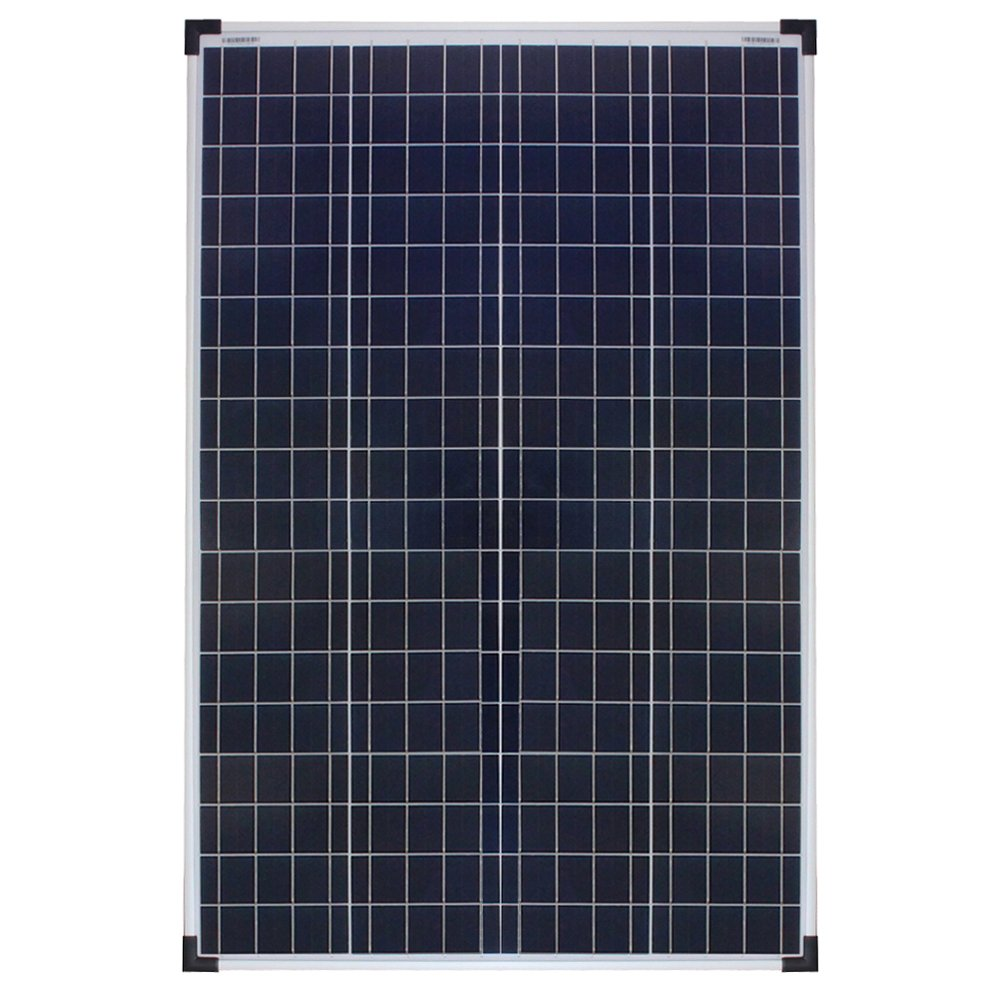 RICH SOLAR 100 Watt 12 Volt Polycrystalline Solar Panel High Efficiency Solar Module Charge Battery For