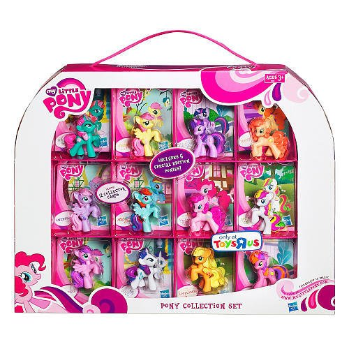 My Little Pony Exclusive 12Pack Pony Collection Set Includes 6 Special Edition Ponies! - Exclusive Magic Collection
