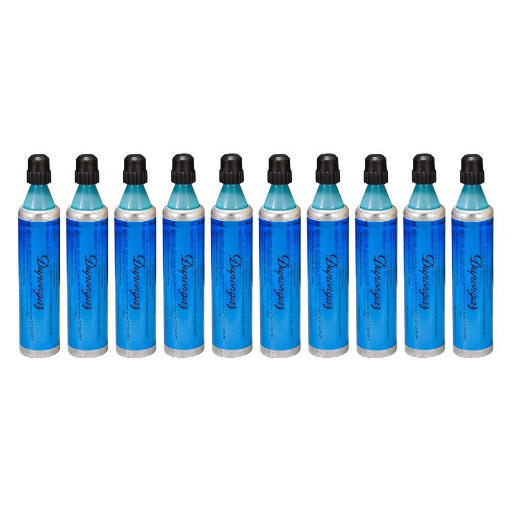 S.T. DUPONT LIGHTER REFILL BUTANE FUEL GAS BLUE x 10