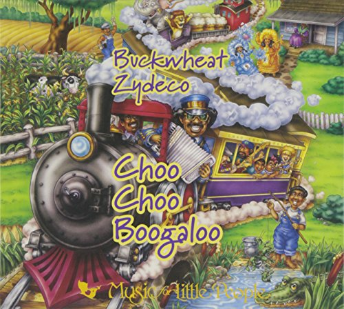Choo Choo Boogaloo: Zydeco Music For Families by Music for Little People